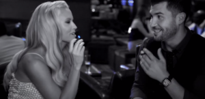 "In this commercial, actress Jenny McCarthy says, ""I get to have a blu without the guilt, because there's only vapor, not tobacco smoke."" Image via youtube screen shot"